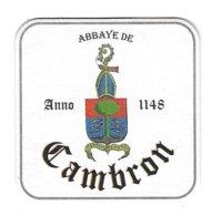 58a Brie. De Cambron Cambron-Casteau  Abbaye De Cambron - Sous-bocks
