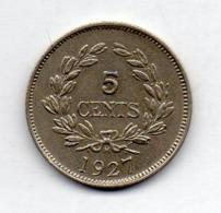 BRITISH INDIA - SARAWAK, 5 Cents, Copper-Nickel, 1927, KM #14 - India