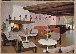 X04049 CASTELLANE Nouvel Hotel Du COMMERCE Salon Cheminée 1970s Alpes-de-Haute-Provence - Castellane