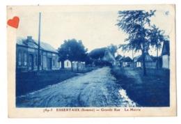 03139-LE-80-ESSERTAUX-Grande Rue-La Mairie-------------environ 264 Habitants - Autres Communes