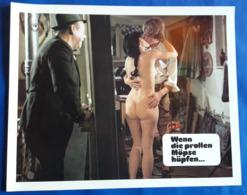 """Erotik-Film """"Wenn Die Prallen Möpse Hüpfen..."""" (nude - Sexy Woman - Nackt) # Original Altes Kinoaushangfoto # [19-3682] - Fotos"""
