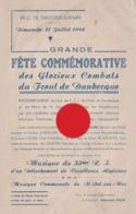 SAINT POL SUR MER 1946 Fête Commémorative Des Glorieux Combats Du Front De Dunkerque Guerre 40/45 - Programme
