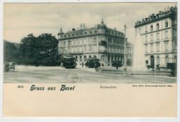 GRUSS   AUS   BASEL     ASCHENPLATZ              2 SCAN  (NUOVA) - BS Basel-Stadt
