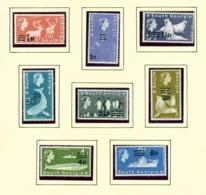 SOUTH GEORGIA - 1971 Decimal Surcharge Definitives Set Unmounted/Never Hinged Mint - Falkland Islands