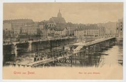 GRUSS   AUS   BASEL    BAU  DER  PROV.  BRUCKE                 2 SCAN  (NUOVA) - BS Basel-Stadt