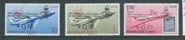 Haiti 1961 Scout Conference Overprints On Planes Set 3 MLH - Haiti