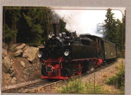 BRD - AK - Eisenbahn Train - Harzquerbahn HSB - Zug  Mit Malletlok 99 5901 - Trains