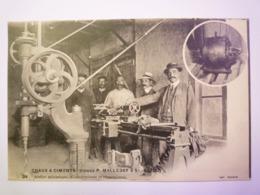 2019 - 2882  SAINT-ASTIER  (Dordogne)  :  Usines P. MALLEBAY  - Atelier Mécanique   XXX - Other Municipalities