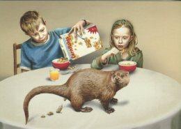 Go-card Advertising Postcard, En Dag Betaler Naturen Tilbage, (rubbish Collection) 11178 - Animals