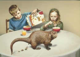 Go-card Advertising Postcard, En Dag Betaler Naturen Tilbage, (rubbish Collection) 11178 - Animaux & Faune