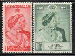 CI512 - ADEN KATHIRI STATE OF SEIYUN 1948 , Silver Wedding Serie  *  Linguella (2380A) - Aden (1854-1963)