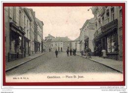 Gembloux - Place St-Jean - Belle Vue Animée - Magasins - G.Hermans N° 2036 - 2 Scans - Gembloux