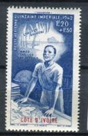 Côte D'Ivoire 1942. Yvert A 9 ** MNH. - Neufs