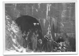 Fort De Loncin Visite Du Colonel Raynal 1931   Photo 18x13 (musée De La Vie Wallonne) - Reproductions