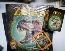 Zoika Album Vuoto+box 50 Bustina Figurine FOL. BO 2015 - Adesivi