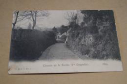 Très Belle Ancienne Carte Huy Chemin De La Sarte 1913,RARE Pour Collection - Hoei
