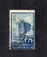 Belgio - 1935 - Propaganda Per L'Esposizione Universale Di Bruxelles - Usato - (FDC17861) - 1935 – Brussels (Belgium)
