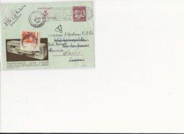 PUBLIBEL Pr L'étranger 01 Bruxelles 4-26.VII.49 V.ChamonixTTX Franç.10 FR - Stamped Stationery