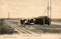 CPA Camp De CHALONS - Un Poste Telephonique (364773) - Camp De Châlons - Mourmelon