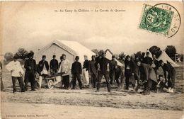 CPA Au Camp De CHALONS - La Corvée De Quartier (364797) - Camp De Châlons - Mourmelon