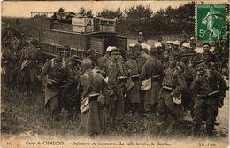 CPA Camp De CHALONS - Infanterie En Manoeuvres (364854) - Camp De Châlons - Mourmelon