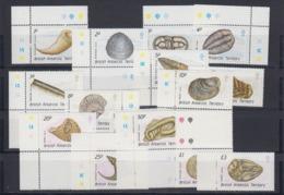 British Antarctic Territory (BAT) 1990 Definitives / Fossiels 15v ** Mnh (44985) - Brits Antarctisch Territorium  (BAT)