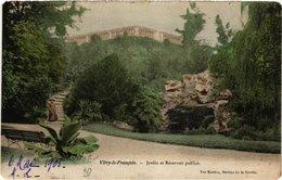 CPA VITRY-le-FRANCOIS Jardin Et Reservoir Publics (490506) - Vitry-le-François