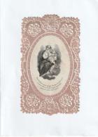 Image Religieuse - Canivet Fin XIX - Mon Enfant Pour Gage De Ma Tendresse Maternelle... - Scan R/V - Devotion Images