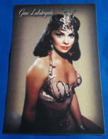 GINA LOLLOBRIGIDA # Italian Actress :: Sexy Pin-Up Portrait # Modern Photo-PostCard # [19-3071] - Actores