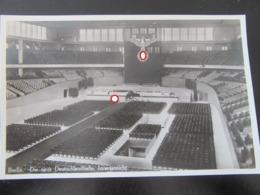 Postkarte 3. Reich - Deutschlandhalle Berlin - Briefe U. Dokumente
