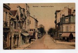 - CPA HOUILLES (78) - Avenue De La Gare - Edition A. Bourdron - - Houilles