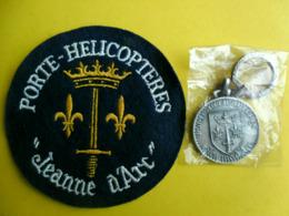 Ecusson Porte-hélicoptères Jeanne D'Arc - Patches