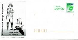 PAP ILE D'AIX (CHARENTE MARITIME) : NAPOLEON Juillet 1815 - Prêts-à-poster:  Autres (1995-...)