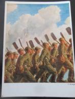 Postkarte 3. Reich Propaganda RAD - Briefe U. Dokumente