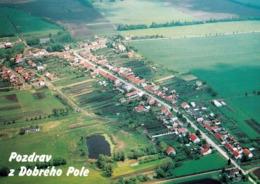 1 AK Tschechien * Blick Auf Dobré Pole (deutsch Guttenfeld) - Luftbildaufnahme * - Tchéquie