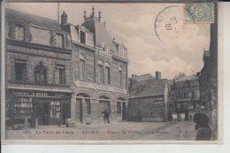 76  - YPORT -   PLace Du Puits -  La POSTE..1907 - Yport