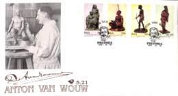 NB - [409224]TB//-Afrique Du Sud  - PRETORIA, ANTON VAN WOUW, Arts, Sculpture - FDC