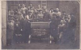 Photo Carte De La Soie Artificielle Et Textile Belge En 1919 - Artisanat