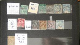 Anciennes Colonies Sur Feuilles D'album : BENIN - Stamps