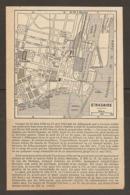 CARTE PLAN 1952 - SAINT NAZAIRE OCCUPATION ALLEMANDE - PHARE BASE SOUS MARINE SAS COUVERT - Topographische Karten