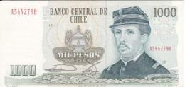 BILLETE DE CHILE DE 1000 PESOS DEL AÑO 1987  (BANK NOTE) - Chili