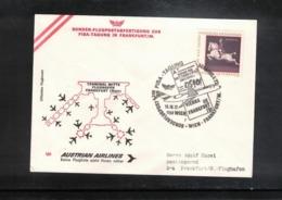 Austria / Oesterreich 1972 AUA Grussflugpost Wien - Frankfurt  Zur Fisa Tagung - Premiers Vols AUA