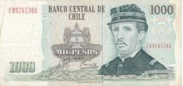BILLETE DE CHILE DE 1000 PESOS DEL AÑO 1997  (BANK NOTE) - Chili