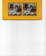 Visite De L'Amicale De L'épicerie 77 Seine Et Marne Carte Stéréoscopique - Stereoscopische Kaarten