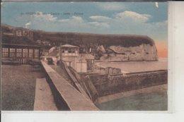 76  - YPORT -Casino -Jetée - Falaise..1934 - Yport