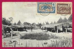 CPA Congo Français Et Dépendances - Un Village Banziri Sur Les Rives De L'Oubanghi - Congo Francese - Altri