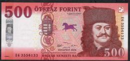 HUNGARY 500 FORINT 2008 P 188 UNC