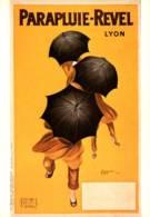 CPM - AFFICHE PUB - PARAPLUIE REVEL - LYON - CAPPIELLO - Edition F.Nazan - Lyon