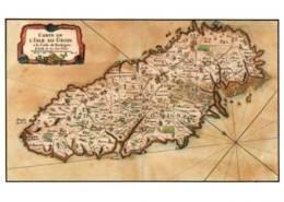 CPM - GROIX - CARTOGRAPHIE De L'ILE - Ouvrage De 1750 - Edition Jack - Groix