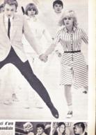 (pagine-pages)SYLVIE VARTAN E JOHNNY HALLYDAY  Tempo1965. - Other